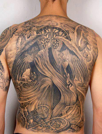 angel of death tattoo