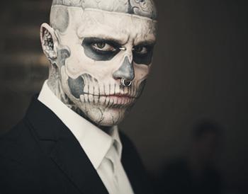 Face tattoo