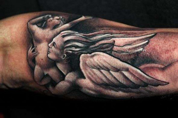 guardian angel tattoo