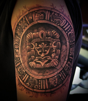 Latino Hand Tapped Tattoo