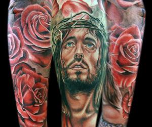 Jesus Christus Tattoo