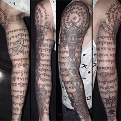 literaly Sleeve Tattoo