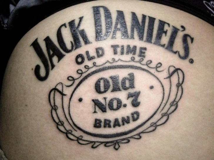 jack daniels tattoo by czi tattoo studio. Black Bedroom Furniture Sets. Home Design Ideas
