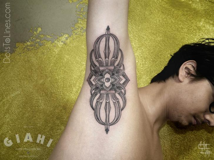 Arm Dotwork Tattoo By Dots To Lines