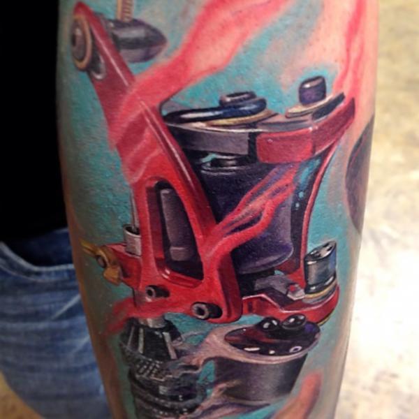 Arm Tattoo Machine By Rember Tattoos
