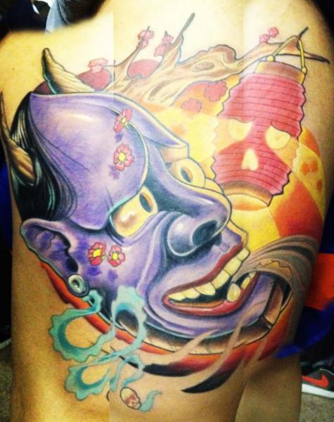 Japanese Demon Tattoo by Wanted Tattoo