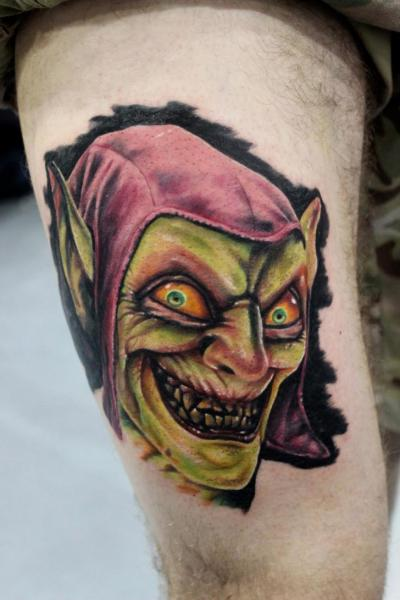Arm Goblin Tattoo By North Side Tattooz
