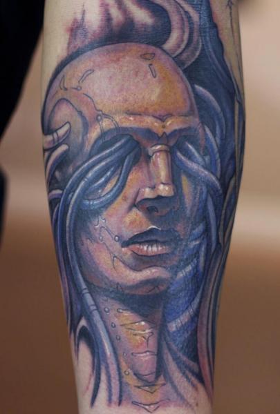 Arm Fantasie Männer Tattoo von Graven Image
