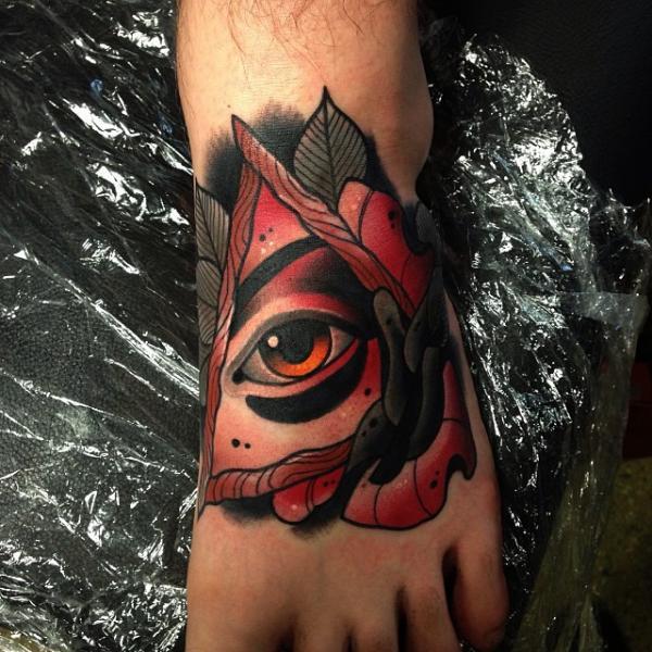 Old School Tattoo God