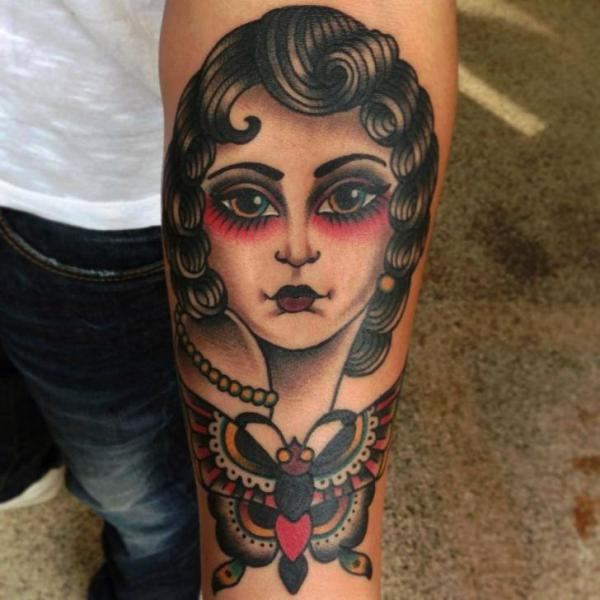 Gypsy moth tattoo meaning