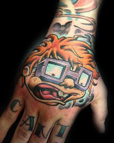 Tatua d o dzieci posta przez levy hilton for Cartoon baby tattoos
