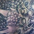 Shoulder Japanese Dragon tattoo by GZ Tattoo