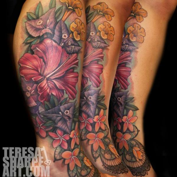 Feet Tattoo Designs 37