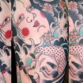 Shoulder Fantasy Japanese tattoo by Ollie XXX