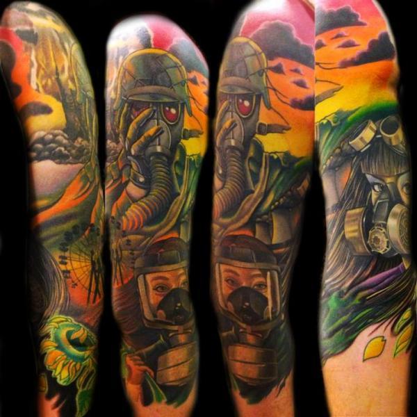 Bomb Tattoo Designs