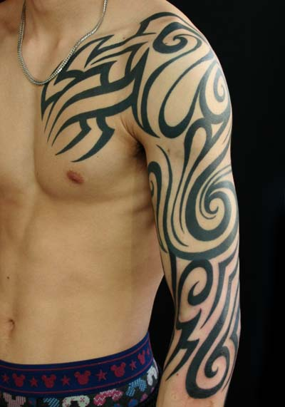 shoulder tribal price tattoo Van Tattoo Tattoo by Sleeve Tribal Shoulder Studio