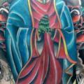 New School Rücken Religiös tattoo von Tattoo B52