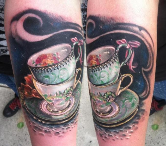 tasse belle et la bete zip tatouage
