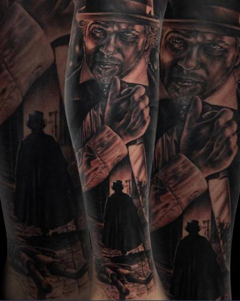 Arm Jack The Ripper Tattoo By Drew Apicture