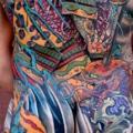 Japanese Back Samurai Butt tattoo by Dagger & Lark Tattoo