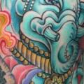 Shoulder Religious Ganesh tattoo by Kipod Studio