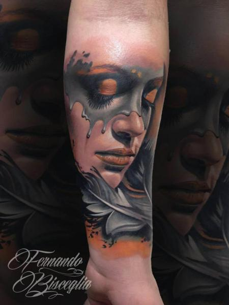 Arm Women Tattoo by Forever Tattoo