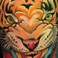 Arm Tiger tattoo by Proskura Art