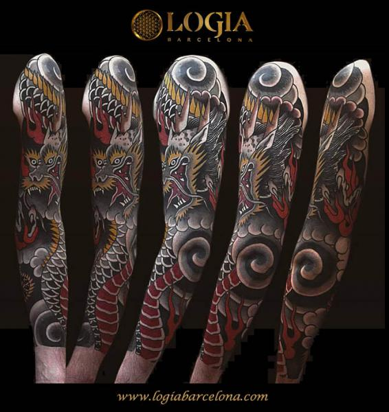 Cover Up Half Sleeve Tattoo Designs