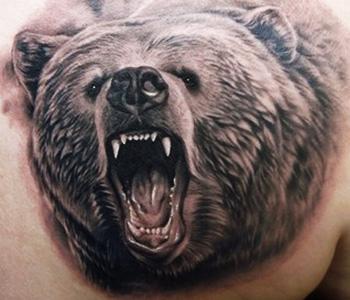 tatouages d'ours