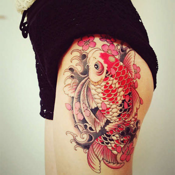 Chinese Koi Tattoo