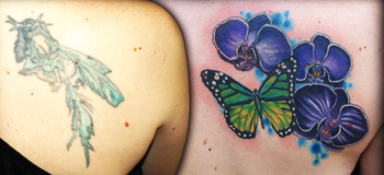 Cover up Tattoos: How it works and Design Ideas