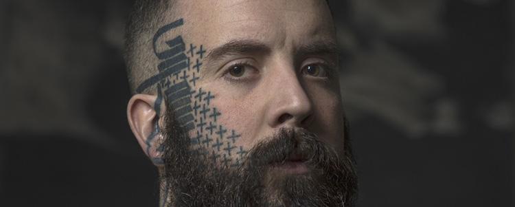 Projekty Tatuaży Twarzy I Szyi