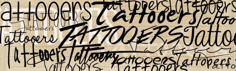 scritte a mano per tautaggi
