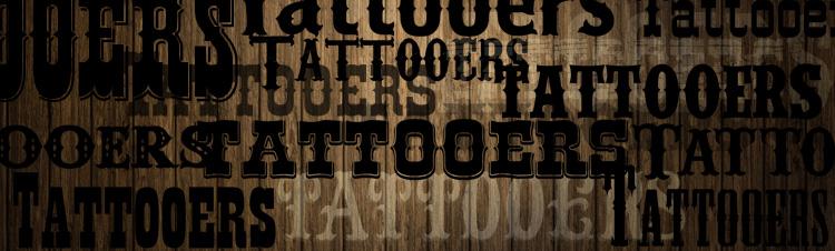 fontes ocidentais tatuagem