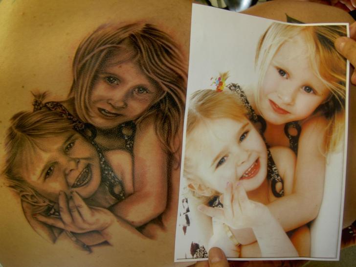 Portrait Realistic Tattoo by Eclipse Tattoo