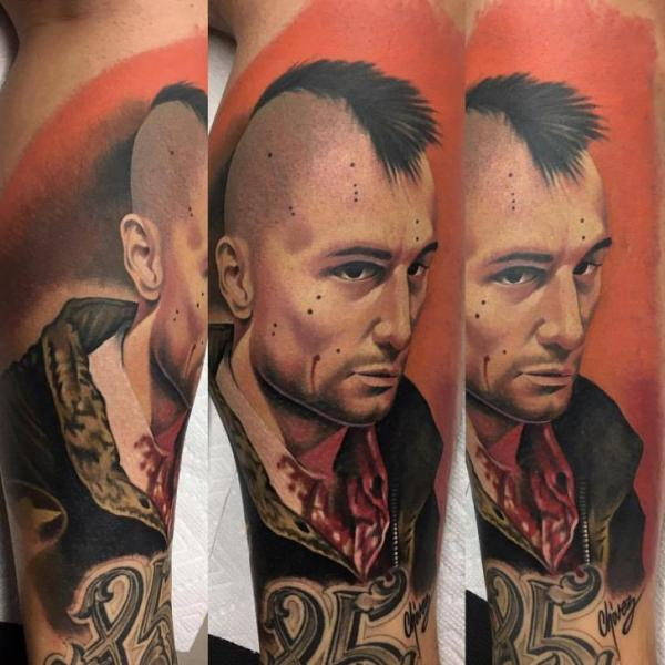Arm Portrait Realistic Tattoo by Adrenaline Vancity