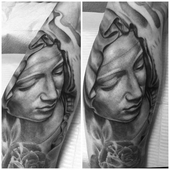 Tatuaggio Realistici Angeli di Adrenaline Vancity