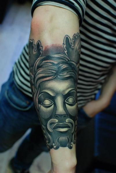 Arm Fantasy Tattoo by Hammersmith Tattoo