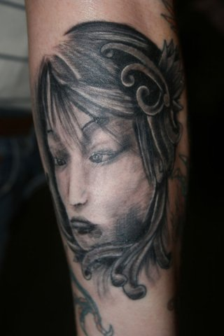 Arm Japanese Tattoo by Wrexham Ink