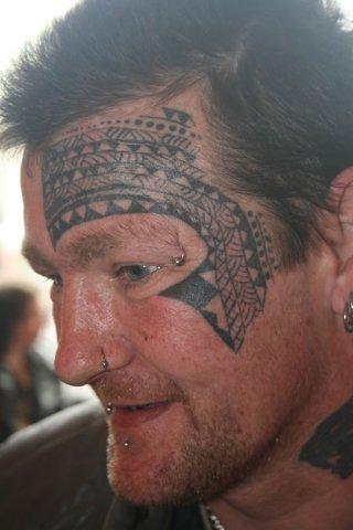 Tribal Back And Shoulder Tattoos For Men