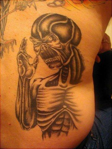 Side Skeleton Tattoo by Wrexham Ink
