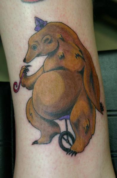 Fantasy Bear Tattoo by 46 and 2 Tattoo