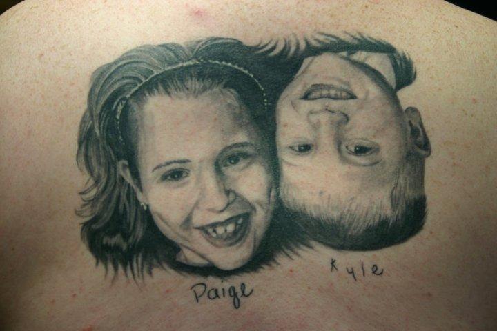Portrait Realistic Tattoo by 46 and 2 Tattoo