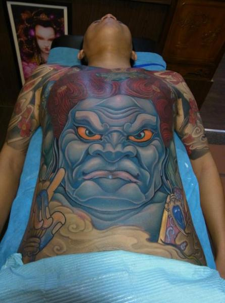 Japanese Body Tattoo by Orient Soul