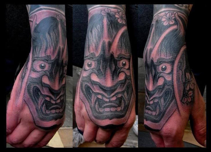 Japanese Hand Tattoo by Orient Soul