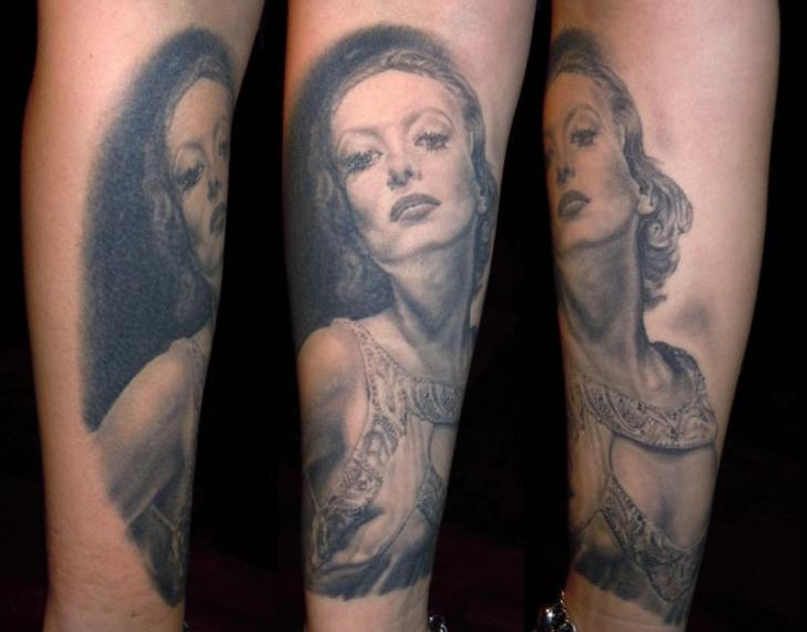 Arm Portrait Realistic Tattoo by Apocalypse Tattoo