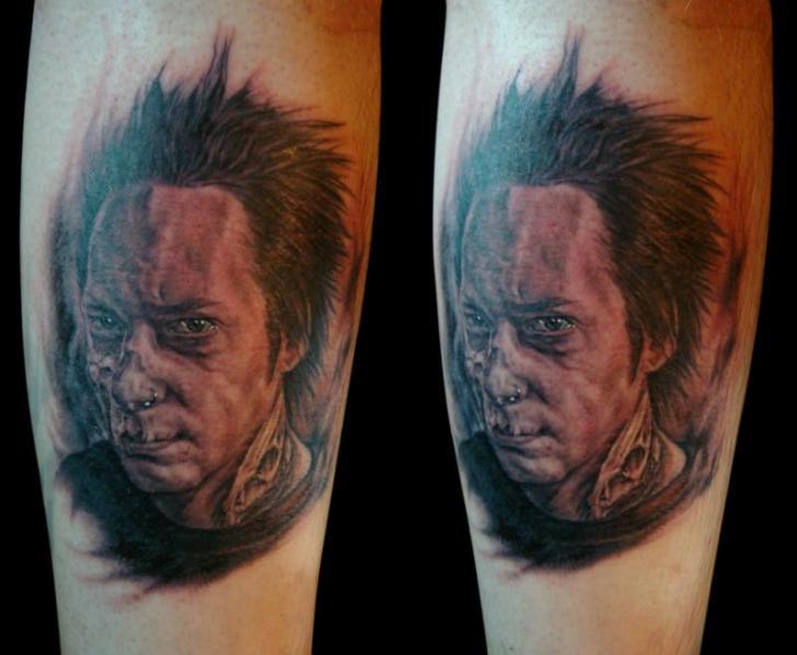 Fantasy Portrait Tattoo by Apocalypse Tattoo