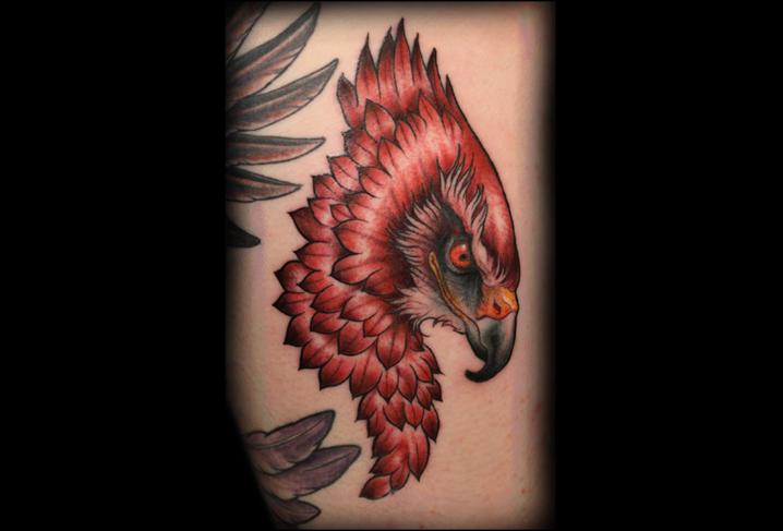 Old School Adler Tattoo von Artwork Rebels