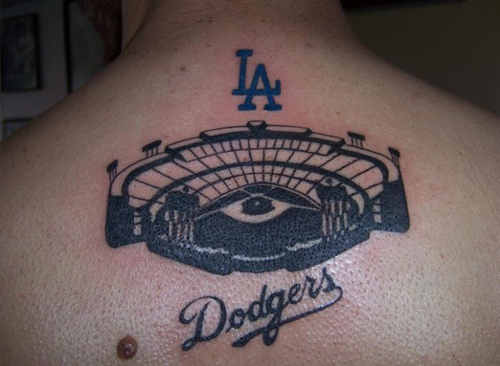 Back Stadium Tattoo by Bent n Twiztid