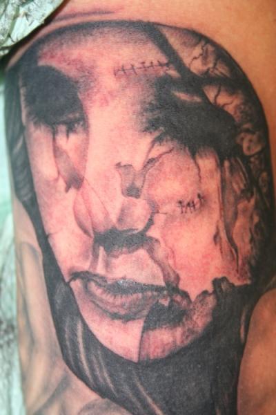 Fantasie Frauen Tattoo von Bent n Twiztid